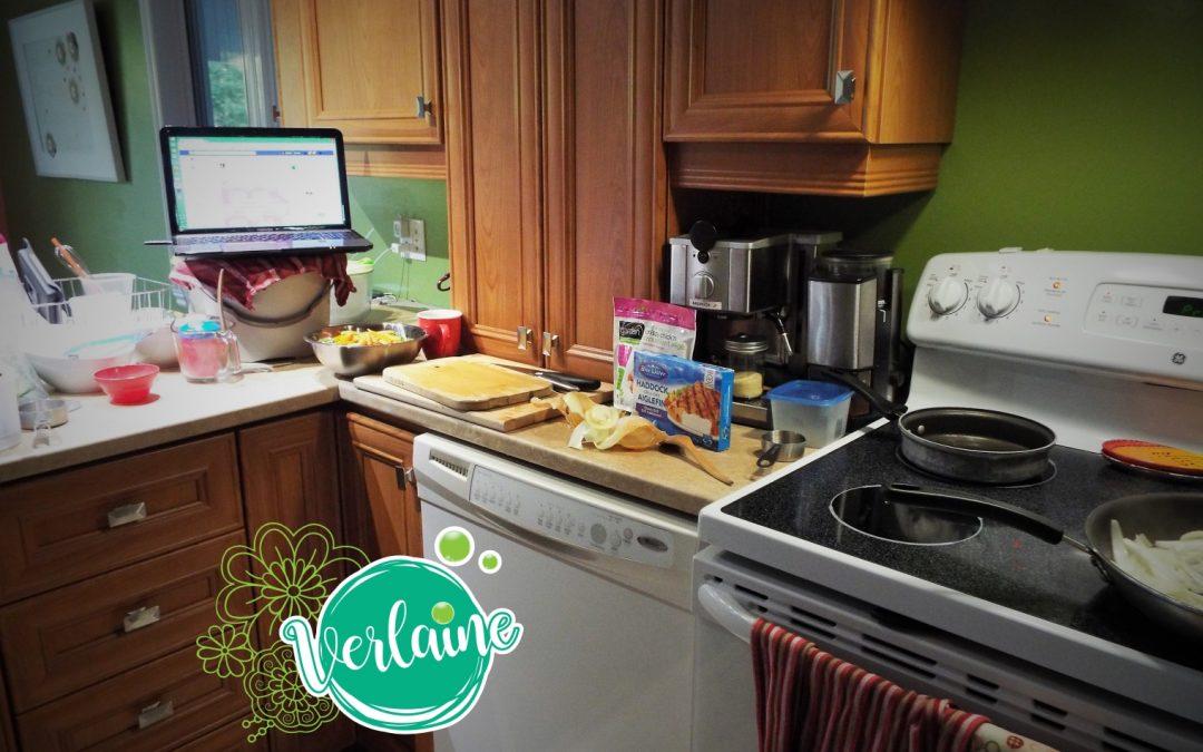 Ma vie de maman-entrepreneure, ma vie dans la cuisine et la lavande!